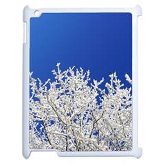Crown Aesthetic Branches Hoarfrost Apple Ipad 2 Case (white)
