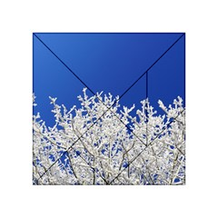Crown Aesthetic Branches Hoarfrost Acrylic Tangram Puzzle (4  X 4 )