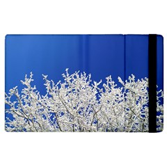 Crown Aesthetic Branches Hoarfrost Apple Ipad 3/4 Flip Case