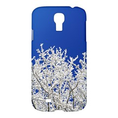 Crown Aesthetic Branches Hoarfrost Samsung Galaxy S4 I9500/i9505 Hardshell Case