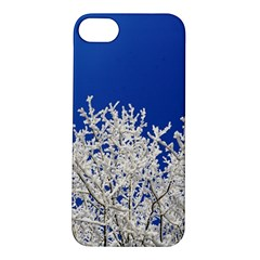 Crown Aesthetic Branches Hoarfrost Apple Iphone 5s/ Se Hardshell Case