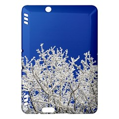 Crown Aesthetic Branches Hoarfrost Kindle Fire Hdx Hardshell Case