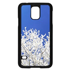 Crown Aesthetic Branches Hoarfrost Samsung Galaxy S5 Case (black)