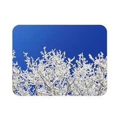 Crown Aesthetic Branches Hoarfrost Double Sided Flano Blanket (mini)