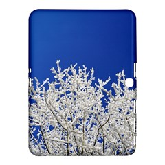 Crown Aesthetic Branches Hoarfrost Samsung Galaxy Tab 4 (10 1 ) Hardshell Case