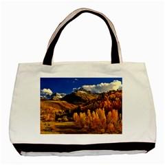 Colorado Fall Autumn Colorful Basic Tote Bag