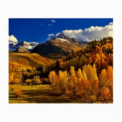Colorado Fall Autumn Colorful Small Glasses Cloth (2 Side)