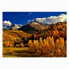 Colorado Fall Autumn Colorful Large Glasses Cloth
