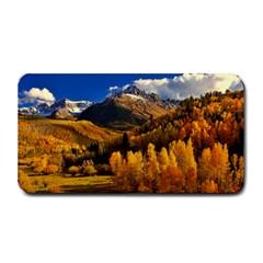 Colorado Fall Autumn Colorful Medium Bar Mats