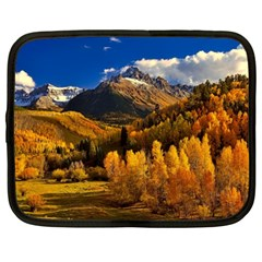 Colorado Fall Autumn Colorful Netbook Case (large)