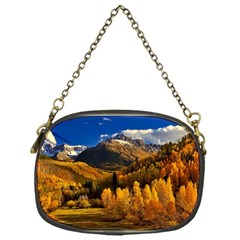 Colorado Fall Autumn Colorful Chain Purses (one Side)