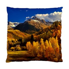Colorado Fall Autumn Colorful Standard Cushion Case (two Sides)