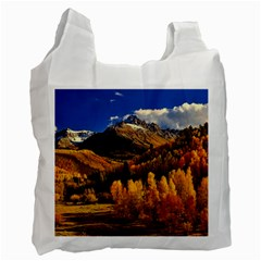 Colorado Fall Autumn Colorful Recycle Bag (two Side)