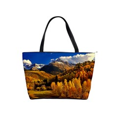 Colorado Fall Autumn Colorful Shoulder Handbags