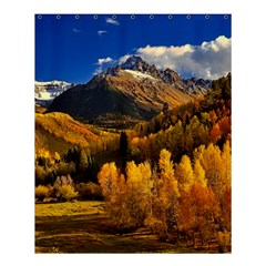Colorado Fall Autumn Colorful Shower Curtain 60  X 72  (medium)