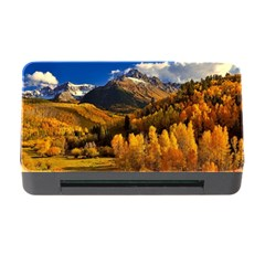 Colorado Fall Autumn Colorful Memory Card Reader With Cf