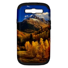 Colorado Fall Autumn Colorful Samsung Galaxy S Iii Hardshell Case (pc+silicone)