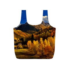 Colorado Fall Autumn Colorful Full Print Recycle Bags (s)