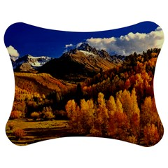 Colorado Fall Autumn Colorful Jigsaw Puzzle Photo Stand (bow)