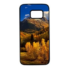 Colorado Fall Autumn Colorful Samsung Galaxy S7 Black Seamless Case