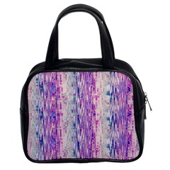 Splashes Pattern Classic Handbags (2 Sides)
