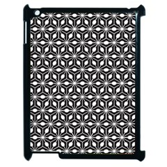 Asterisk Black White Pattern Apple Ipad 2 Case (black)