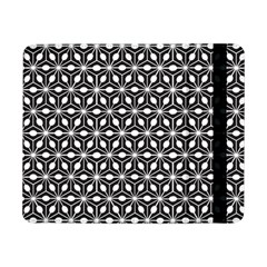 Asterisk Black White Pattern Samsung Galaxy Tab Pro 8 4  Flip Case