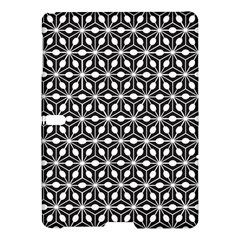 Asterisk Black White Pattern Samsung Galaxy Tab S (10 5 ) Hardshell Case