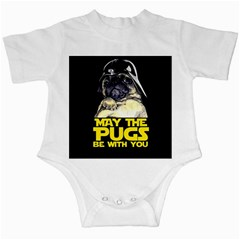 May The Pugs Be With You Infant Creepers
