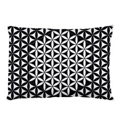 Flower Of Life Pattern Black White 1 Pillow Case (two Sides)