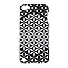 Flower Of Life Pattern Black White 1 Apple Ipod Touch 5 Hardshell Case
