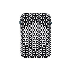 Flower Of Life Pattern Black White 1 Apple Ipad Mini Protective Soft Cases