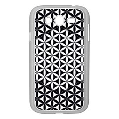 Flower Of Life Pattern Black White 1 Samsung Galaxy Grand Duos I9082 Case (white)