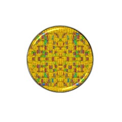 Rainbow Stars In The Golden Skyscape Hat Clip Ball Marker (10 Pack)
