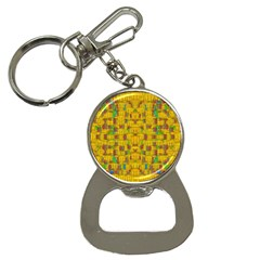Rainbow Stars In The Golden Skyscape Bottle Opener Key Chains