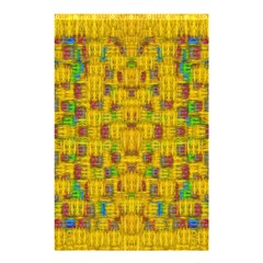 Rainbow Stars In The Golden Skyscape Shower Curtain 48  X 72  (small)