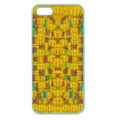 Rainbow Stars In The Golden Skyscape Apple Seamless Iphone 5 Case (color)