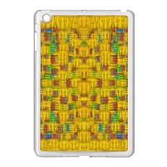 Rainbow Stars In The Golden Skyscape Apple Ipad Mini Case (white)