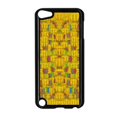 Rainbow Stars In The Golden Skyscape Apple Ipod Touch 5 Case (black)