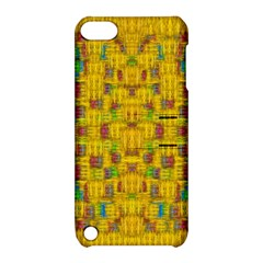 Rainbow Stars In The Golden Skyscape Apple Ipod Touch 5 Hardshell Case With Stand
