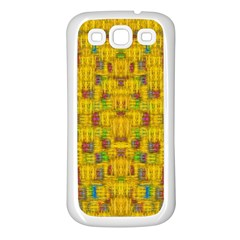 Rainbow Stars In The Golden Skyscape Samsung Galaxy S3 Back Case (white)