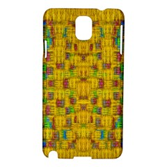 Rainbow Stars In The Golden Skyscape Samsung Galaxy Note 3 N9005 Hardshell Case