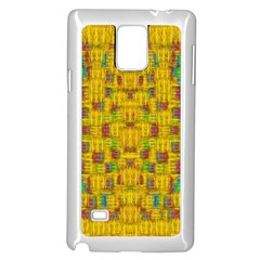Rainbow Stars In The Golden Skyscape Samsung Galaxy Note 4 Case (white)