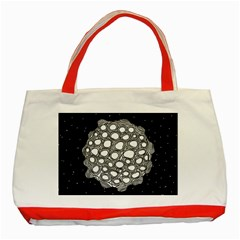 Strange Planet Classic Tote Bag (red)