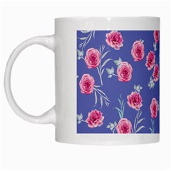 Roses And Roses White Mugs