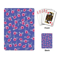 Roses And Roses Playing Card
