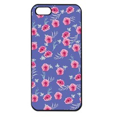 Roses And Roses Apple Iphone 5 Seamless Case (black)