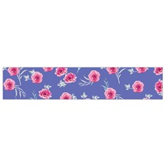 Roses And Roses Small Flano Scarf