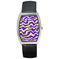 Polynoise Vibrant Royal Barrel Style Metal Watch