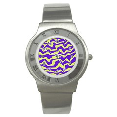 Polynoise Vibrant Royal Stainless Steel Watch